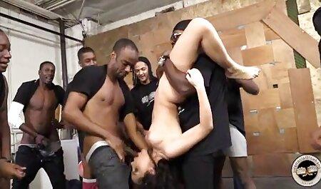 سکس مقعد فیلم سکس زن با الاغ بلوند با آبنوس.